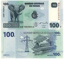 Congo 100 Francs 2007 - UNC