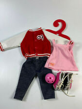 "Our Generation 18"" Doll Gotta Bowl RETRO Outfit fits American Girl"