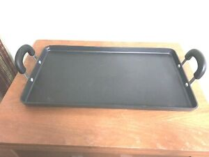 Double Burner Griddle #2867 Retired Dupont Non-Stick Pampered Chef