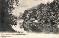 CPA 69 LYON  un coin du lac tete d'or