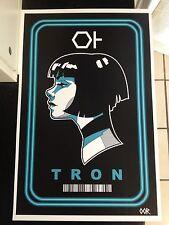 Tron Quorra poster print