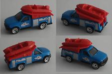 MATCHBOX-Ford utilitaire camion avec bateau gonflable bleu/rouge