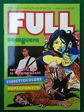 FULL n.10/1983 Rivista/Magazine , TALKING HEADS AL JARREAU MARIA GIOVANNA ELMI