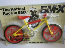 BMX mini-bike kit 30 cm amarillo 80er años OVP B.