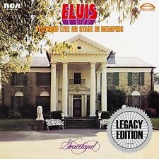 ELVIS PRESLEY - RECORDED LIVE ON STAGE IN MEMPHIS: LEGACY EDITION 2CD SET (2014)