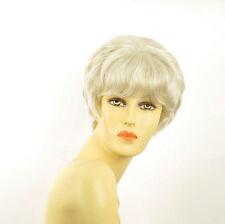 Perruque femme blanche cheveux lisses ref BRANDY 60