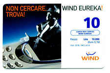 MUSIC RARA RICARICA WIND EUREKA CARTA PER SERVIZI NUOVA 10.000 LIRE