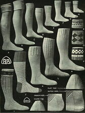 14 Vintage,antique,knitting patterns-childrens,adults socks & stockings booklet