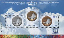 2014. Russia. XXII Olympic Winter Games 2014 in Sochi. S/sheet. MNH