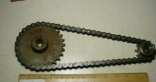 #40 roller chain and sprocket assembly