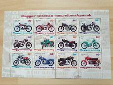 Briefmarke Block Ungarn 2014 Postfrisch Oldtimer Motorräder