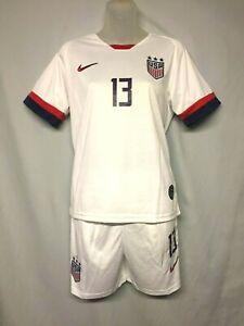 Team USA Alex Morgan Futbol/Soccer Unisex Nike Jersey Set Size 28 New with Tags