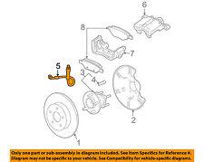 GM OEM Rear Brake-Hydraulic Flex Hose 25874786