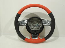 Audi A1 Leather Sport Steering Wheel Soul Black with Red New #2 8X00642448ZP
