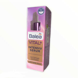 Balea Serum VITAL + intensive with calcium and soybean oil for very mature skin