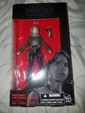 "Star Wars Hasbro Black Series 6"" #22 Sergeant Jyn Erso (Jedha) damaged box"