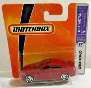 MATCHBOX MBX METAL DIECAST 1:64 SCALE 2006 LEXUS GS430 - M7367 - FACTORY SEALED