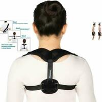 Back Support Body Wellness Posture Corrector Adjustable Shoulder Back Belt Vessu