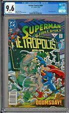Superman Action Comics #684 CGC 9.6 White Doomsday app