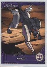 2013 Enterplay Transformers: Optimum Collection G1 Foil #TF11 Ravage Card 0c3