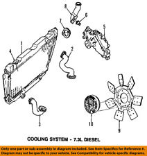 FORD OEM E-350 Econoline Club Wagon Cooling System-Thermostat Gasket E3TZ8255A
