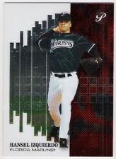 HANSEL IZQUIERDO 2002 TOPPS PRIME SERIAL NUMBERED CARD 1061/1999 FLORIDA MARLINS