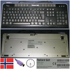 Clavier Qwerty NO Norwegian PACKARD BELL 6301N 6960800016 port PS/2