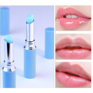 1x Lip Balm Chameleon Rose Natural Essence Hyaluronic Acid Moisturizing Lipstick