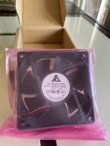 Delta AFB1212HE 120mm x 38mm 2-Pin Fan Server Case 100 CFM Brand new!