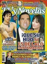 TV Novelas Spanish magazine Susana Gonzalez Pee Wee Nancy Alvarez Juan Gabriel