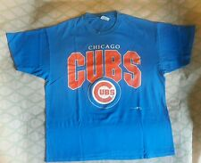 CHICAGO CUBS Vintage Baseball T-Shirt Adult XL Team Hanes MLB 1990's