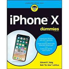 iPhone X For Dummies - Paperback NEW Baig, Edward C. 29/12/2017