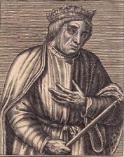 Portrait XVII Casimir III de Pologne Poland Kazimierz III Wielki 1670