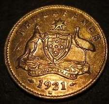1921 Australia 3d Threepence #821-3