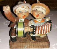 Holz Figur Figuren gruppe wohl Anri Südtirol Grödnertal wood figure figurine