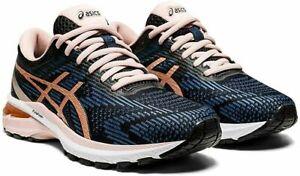 ASICS GT-2000 8, Women's Size 9.5 Medium (B) Black/Blue/Rose Gold NEW!!!