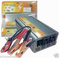 500W Power Inverter Modified Sine Wave DC 12V To AC 220V Converter Car Inverter