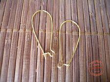 Monachelle Ganci color Oro Dorate Orecchini Bigiotteria Nichel Free Monachella