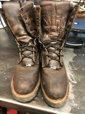 RED WING # 4420 MEN'S LOGGERMAX 9-INCH LOGGER BOOT STEEL TOE 11.5 D AUTHENTIC