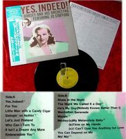 LP Jo Stafford & Tommy Dorsey Yes Indeed (Japan Pressun