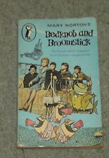 Bedknob and Broomstick  Mary Norton Vintage 1971  Disney Cover
