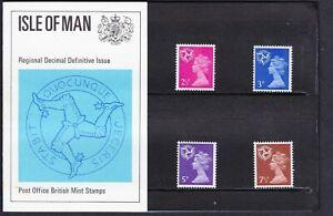GB 1971, Isle of Man, Regional Machins, Presentation Pack 30, MNH