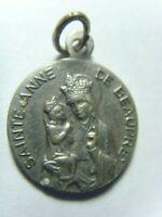 antique catholic faith religious Saint Anne de beaupre pendant 50518