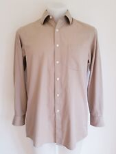 MICHAEL Michael Kors, Men's Button Down Stretch Cotton Shirt, 15.5 32/33 (M)
