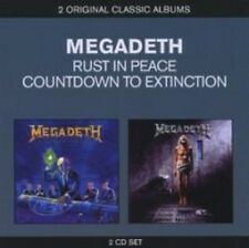 Megadeth - Countdown To Extinction/Rust In Peace (NEW 2CD)