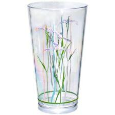 New Reston Lloyd Shadow Iris - 19Oz Acrylic Glass, S/6, Corelle