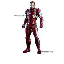 "MARVEL - Civil War - Mark XLVI 1/6 Action Figure 12"" Diecast Hot Toys"