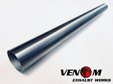 """3"""" INCH (76mm) X 1M 304 Stainless Steel Universal Exhaust Intake Pipe Tube"""