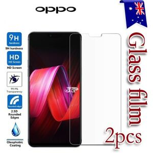 2x For Oppo Reno2 Z A57 A73 R9S Plus R15 R17 Pro Tempered Glass Screen Protector