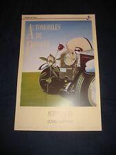 affiche automobile poster louis vuitton RAZZIA 1992 cars original speed car